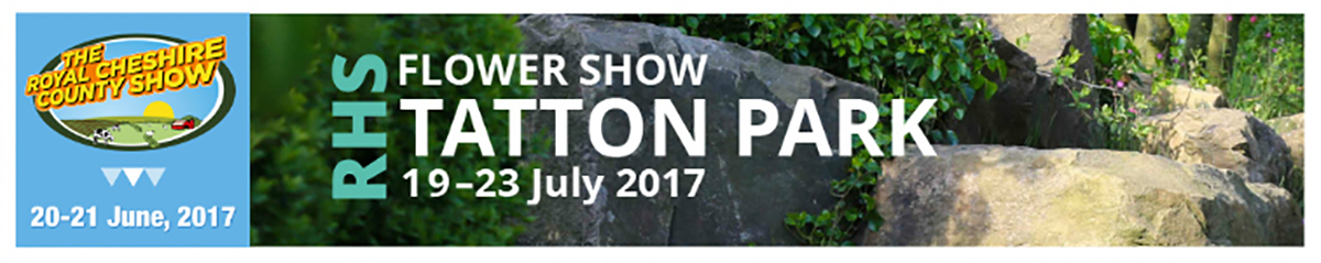 Dual tickets for Cheshire Show and RHS Flower Show