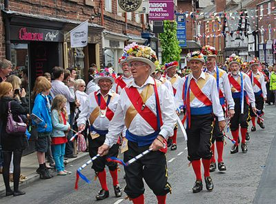 "About Knutsford - ""Knutsford Royal May Day - Manchester Morris Men"""