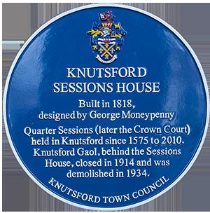 Blue Plaque Scheme: Knutsford Sessions House