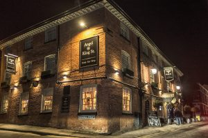 Digital Images of Knutsford Town Centre: The Angel Hotel