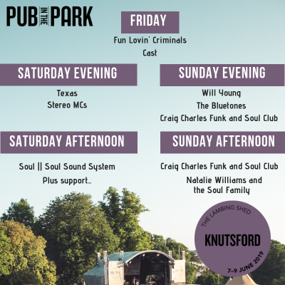 Pub in the Park (Knutsford 2019)